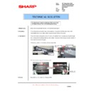 Sharp AR-F200 (serv.man9) Technical Bulletin