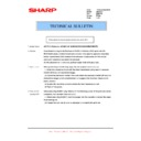 Sharp AR-FX11 (serv.man8) Technical Bulletin