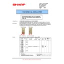 Sharp AR-M150 (serv.man30) Technical Bulletin