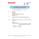 Sharp AR-M150 (serv.man31) Technical Bulletin