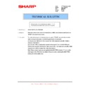 Sharp AR-M150 (serv.man33) Technical Bulletin
