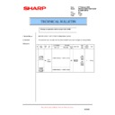 Sharp AR-M150 (serv.man39) Technical Bulletin