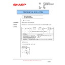 Sharp AR-M150 (serv.man40) Technical Bulletin