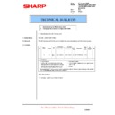 Sharp AR-M150 (serv.man41) Technical Bulletin