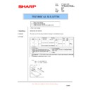 Sharp AR-M150 (serv.man46) Technical Bulletin