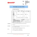 Sharp AR-M150 (serv.man47) Technical Bulletin