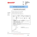 Sharp AR-M150 (serv.man49) Technical Bulletin