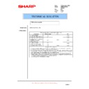 Sharp AR-M150 (serv.man50) Technical Bulletin