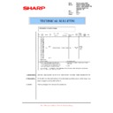 Sharp AR-M150 (serv.man51) Technical Bulletin