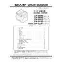 Sharp AR-M205 (serv.man16) Service Manual