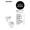 Sharp AR-M205 (serv.man18) User Guide / Operation Manual