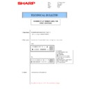 Sharp AR-M205 (serv.man34) Technical Bulletin