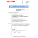Sharp AR-M205 (serv.man39) Technical Bulletin