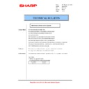 Sharp AR-M205 (serv.man42) Technical Bulletin