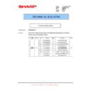 Sharp AR-M205 (serv.man45) Technical Bulletin