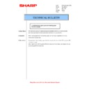 Sharp AR-M205 (serv.man48) Technical Bulletin