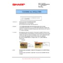 Sharp AR-M205 (serv.man52) Technical Bulletin