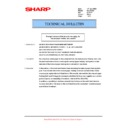 Sharp AR-M205 (serv.man54) Technical Bulletin