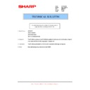 Sharp AR-M205 (serv.man55) Technical Bulletin