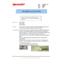 Sharp AR-M205 (serv.man57) Technical Bulletin