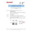 Sharp AR-M205 (serv.man58) Technical Bulletin