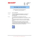 Sharp AR-M205 (serv.man62) Technical Bulletin