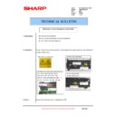 Sharp AR-M205 (serv.man63) Technical Bulletin