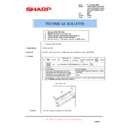 Sharp AR-M205 (serv.man64) Technical Bulletin