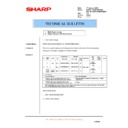 Sharp AR-M205 (serv.man65) Technical Bulletin