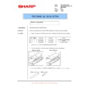 Sharp AR-M205 (serv.man69) Technical Bulletin