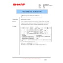 Sharp AR-M205 (serv.man70) Technical Bulletin