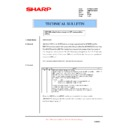 Sharp AR-M205 (serv.man73) Technical Bulletin
