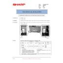 Sharp AR-M205 (serv.man79) Technical Bulletin