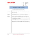 Sharp AR-M205 (serv.man80) Technical Bulletin