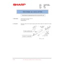 Sharp AR-M205 (serv.man81) Technical Bulletin