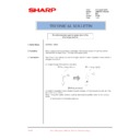 Sharp AR-M205 (serv.man82) Technical Bulletin