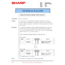 Sharp AR-M205 (serv.man83) Technical Bulletin