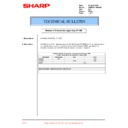 Sharp AR-M205 (serv.man84) Technical Bulletin