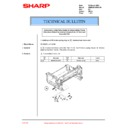 Sharp AR-M205 (serv.man85) Technical Bulletin