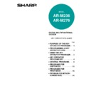 Sharp AR-M276 (serv.man12) User Guide / Operation Manual
