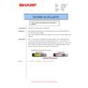 Sharp AR-M276 (serv.man52) Technical Bulletin