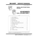 Sharp AR-M276 (serv.man6) Service Manual