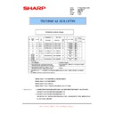 Sharp AR-M276 (serv.man60) Technical Bulletin