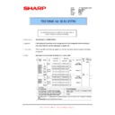 Sharp AR-M276 (serv.man63) Technical Bulletin