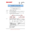 Sharp AR-M276 (serv.man64) Technical Bulletin