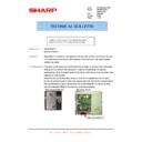 Sharp AR-M276 (serv.man65) Technical Bulletin