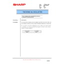 Sharp AR-M276 (serv.man75) Technical Bulletin