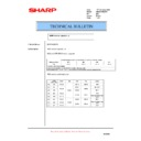 Sharp AR-M276 (serv.man76) Technical Bulletin