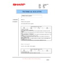 Sharp AR-M276 (serv.man81) Technical Bulletin