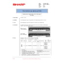 Sharp AR-M276 (serv.man85) Technical Bulletin